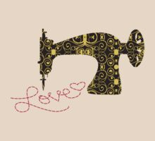 Love stitching antique sewing machine by BigMRanch