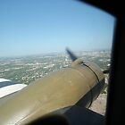 C-47 Over Ft Worth by Bdonahy