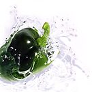 Fresh Green Pepper by ImageMonkey