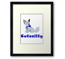 Cuteality Framed Print