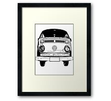 O Stamp Framed Print