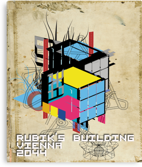 Rubik's building - Vienna 2044 by frederic levy-hadida