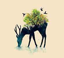 Watering - a life into itself by Budi Satria Kwan