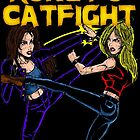 Kung-Fu Catfight by MetalheadMerch