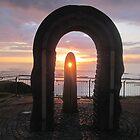 Donegal Sunset, Celtic Beams, July 2012 by ArleneMartine