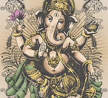 Ganesha by ramanandr