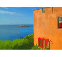 Painted scene  Photographic Print