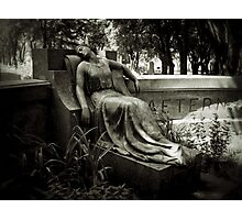 I am Stretched on Your Grave Photographic Print