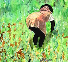 Rice Paddy by Joyce Ann Burton-Sousa