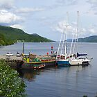 Fort Augustus Dock by triciamary