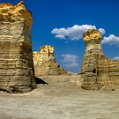 Monument Rocks, Kansas by Terence Russell