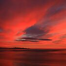 winter sky. eastcoast, tasmania by tim buckley | bodhiimages photography