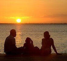 The family at dawn by blushutter