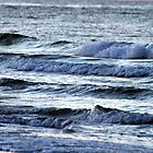 Waves at Gulf Shores by Denise N Young