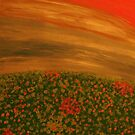 Field of Red by Helene Henderson