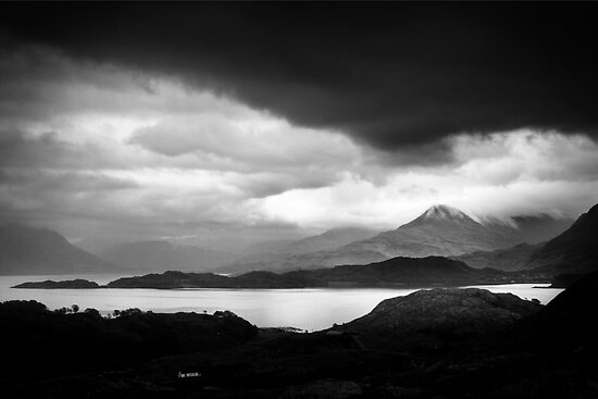 Low Clouds over Torridon Mountains by Dorit Fuhg