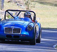 MG Sports Car by Noel Elliot