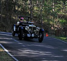 Vintage MG Racing Car by Noel Elliot