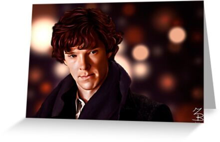 Sherlock Portrait by nero749