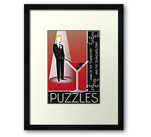 Why's It Called Puzzles? Framed Print