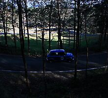 Mini At Mount Cotton Hill Climb by Noel Elliot