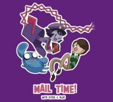 Mail Time by JimHiro