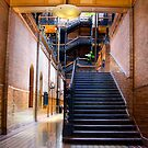 Bradbury Building Entrance by jswolfphoto
