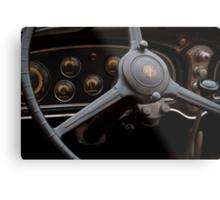1932 Cadillac Dash Metal Print