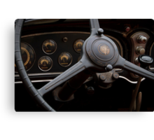 1932 Cadillac Dash Canvas Print