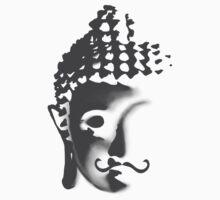 Buddha moustache Kids Clothes