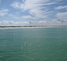 Egmont Key Coastline by JessieT