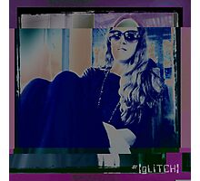 Mary [gLiTCH] Photographic Print