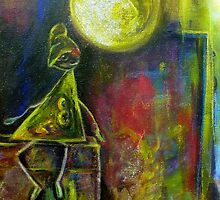 """Jack-on-the-Box"" Moonlight <original SOLD> by frontofbicycle"