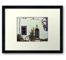 smells like green chile roasting in the distance Framed Print