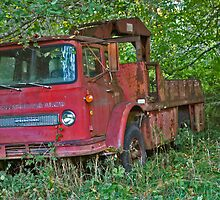 Red Truck by Murray211