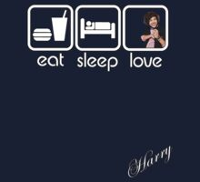 EAT SLEEP LOVE - HARRY by mcdba