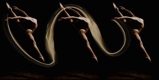 "Dance Series ""Split"" by Martin Dingli"