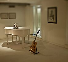 John Lennon's Piano, Guitar and Art by mchugmat000