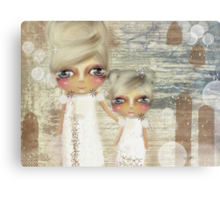 seaside angels Canvas Print