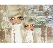 seaside angels Photographic Print