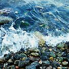 Rocky shoreline by Agnes McGuinness