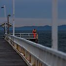 Looking, Searching, Hoping - Pt Lonsdale Victoria by Graeme Buckland