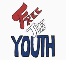 Free the Youth - Sharpie Style - Americana by ashburnco