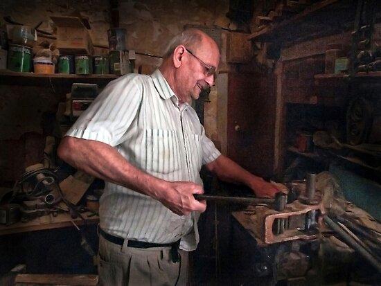 Senior Craftsman ---- Qormi Malta by Edwin  Catania