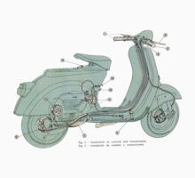 Vespa by philph e. burbs