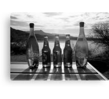 Refreshments at the Lake Canvas Print