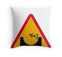 Skate or not 2  Throw Pillow