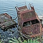 Rusty wreck by Roxy J