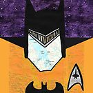 Batman as Geordi La Forge by jerasky
