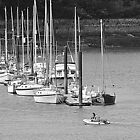 Conwy Boats by Stan Owen